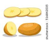 vector illustration of logo for ... | Shutterstock .eps vector #516842035