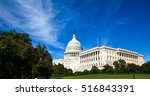 the capitol dc | Shutterstock . vector #516843391