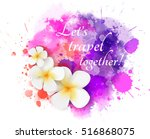abstract travel background with ... | Shutterstock .eps vector #516868075