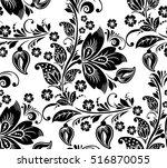 vector abstract elegance... | Shutterstock .eps vector #516870055