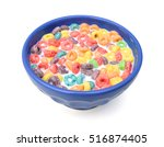 bowl of colorful children's...   Shutterstock . vector #516874405