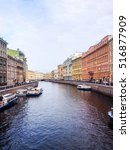griboedov channel of mojka... | Shutterstock . vector #516877909