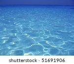Caribbean Sea Blue Turquoise...