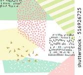 modern abstract design poster ... | Shutterstock .eps vector #516926725