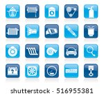 car part and services icons 2   ... | Shutterstock .eps vector #516955381