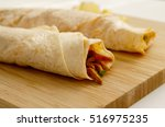tantuni is a spicy roll... | Shutterstock . vector #516975235