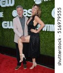 Small photo of LOS ANGELES, CA. August 10, 2016: Alan Thicke & wife Tanya Callau at the CBS & Showtime Annual Summer TCA Party with the Stars at the Pacific Design Centre, West Hollywood.