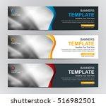 abstract banner design... | Shutterstock .eps vector #516982501