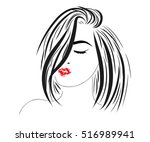 Vector Sketch Of A Beautiful...