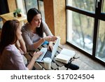 preparing for seminar | Shutterstock . vector #517024504