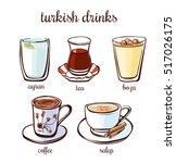 set of hand drawn illustrations ...   Shutterstock .eps vector #517026175