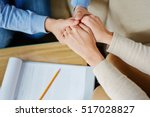 sharing trouble | Shutterstock . vector #517028827
