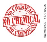 no chemical grunge rubber stamp ... | Shutterstock .eps vector #517042765