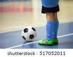 football futsal training for... | Shutterstock . vector #517052011