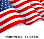 vector illustration   usa flag... | Shutterstock .eps vector #51705526