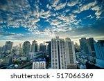 city bangkok blue sky   16 nov... | Shutterstock . vector #517066369