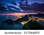 Night View Of Rio De Janeiro...