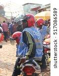 kigali  rwanda   circa july... | Shutterstock . vector #517086589
