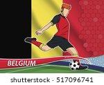 vector illustration of football ... | Shutterstock .eps vector #517096741