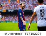 valencia  spain   oct 22  leo... | Shutterstock . vector #517102279