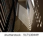 the light and shadow on the wall | Shutterstock . vector #517130449