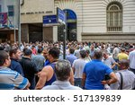 Small photo of 17 November. 2016. Taxi drivers protest against Uber at the streets of Rio de Janeiro - Brazil.