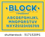 vector of stylized bold font...   Shutterstock .eps vector #517152091