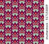 vector christmas pattern   Shutterstock .eps vector #517153009