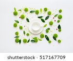 cup for coffee or tea with...   Shutterstock . vector #517167709