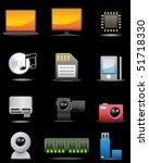 digital electrical appliance... | Shutterstock .eps vector #51718330