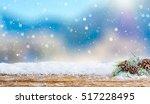Snow Background Light Floor...