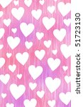 pink background with white... | Shutterstock . vector #51723130