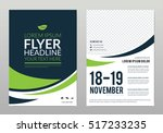 brochure template layout  cover ... | Shutterstock .eps vector #517233235
