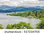 Lake Windermere In The English...