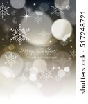 merry christmas and happy new... | Shutterstock .eps vector #517248721