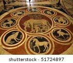 Siena   Duomo Interior. One Of...
