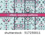 set of four colorful ethnic...   Shutterstock .eps vector #517250011