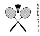badminton | Shutterstock .eps vector #517251307