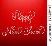 happy new year  linear...   Shutterstock .eps vector #517259467