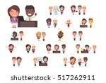 office people working | Shutterstock .eps vector #517262911