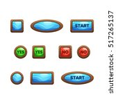 cartoon wooden game user...