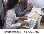 business team meeting. photo... | Shutterstock . vector #517272787