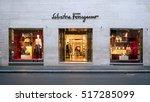 rome  italy   circa october ... | Shutterstock . vector #517285099