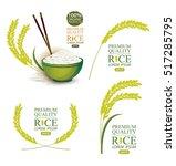 rice. vector illustration. | Shutterstock .eps vector #517285795