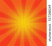 explosion vector illustration.... | Shutterstock .eps vector #517288249