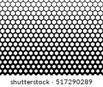 abstract geometric black and... | Shutterstock .eps vector #517290289