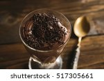Chocolate Mousse In Glass...