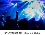 effects blur concert  disco dj... | Shutterstock . vector #517331689