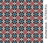 abstract geometric pattern.... | Shutterstock .eps vector #517331911