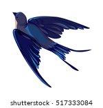 swallow vector  vector...   Shutterstock .eps vector #517333084
